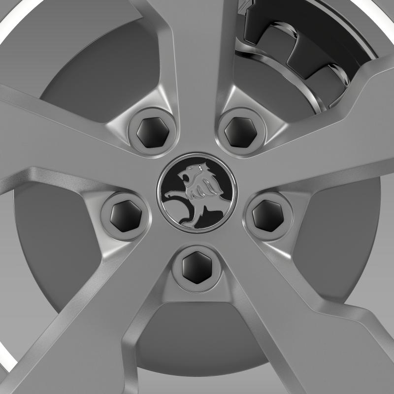 holden volt wheel 3d model 3ds max fbx c4d lwo ma mb hrc xsi obj 211311