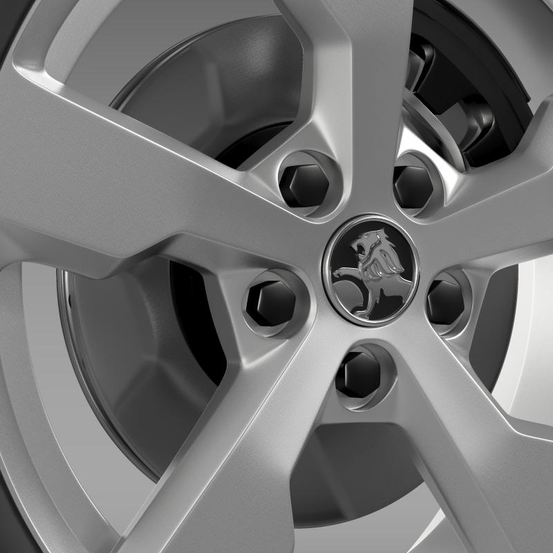 holden volt wheel 3d model 3ds max fbx c4d lwo ma mb hrc xsi obj 211312