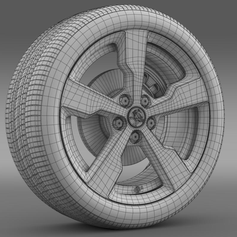 holden volt wheel 3d model 3ds max fbx c4d lwo ma mb hrc xsi obj 211315