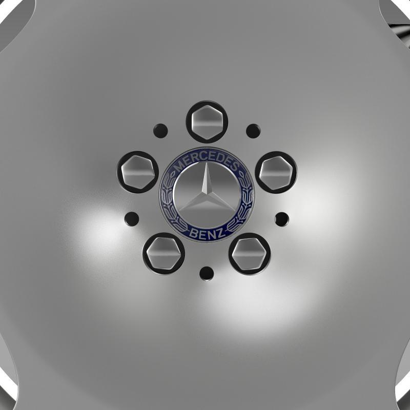 mercedes maybach wheel 3d model 3ds max fbx c4d lwo ma mb hrc xsi obj 211341