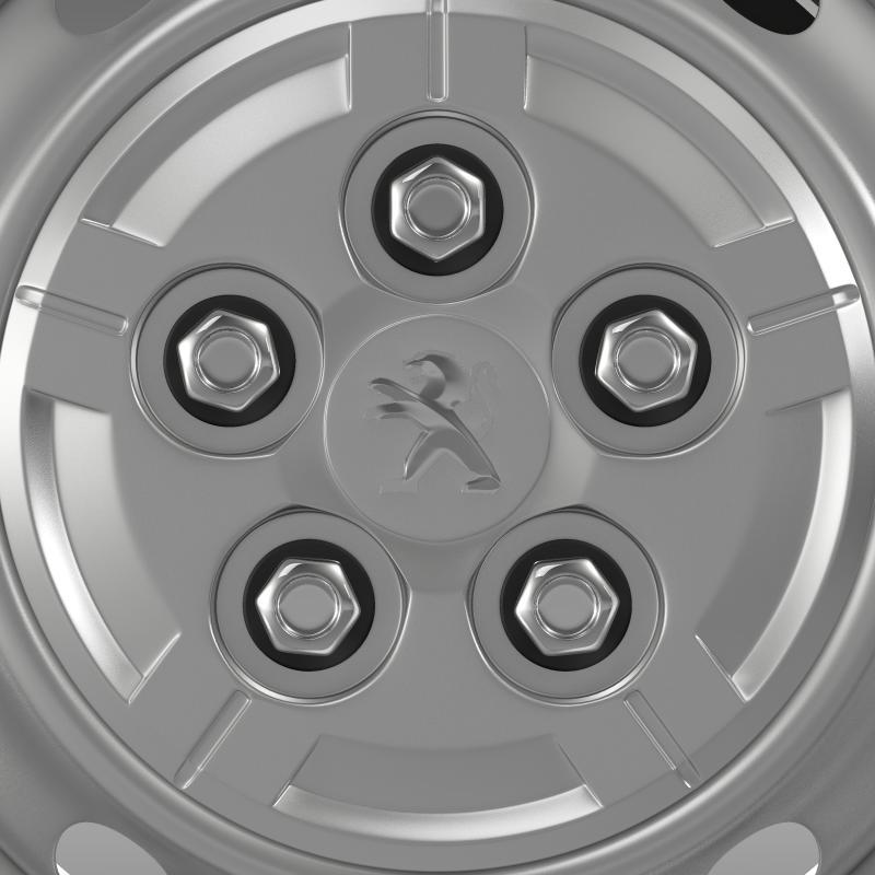 peugeot boxer van wheel 3d model 3ds max fbx c4d lwo ma mb hrc xsi obj 211357