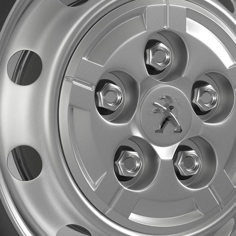 peugeot boxer van wheel 3d model 3ds max fbx c4d lwo ma mb hrc xsi obj 211358