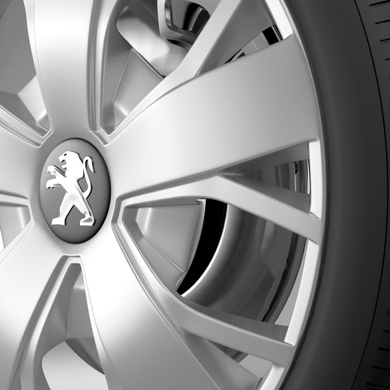 peugeot boxer wheel 3d model 3ds max fbx c4d lwo ma mb hrc xsi obj 211371