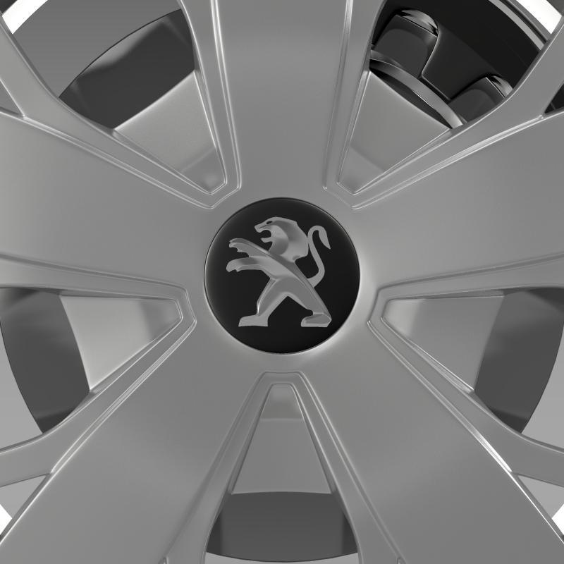 peugeot boxer wheel 3d model 3ds max fbx c4d lwo ma mb hrc xsi obj 211372