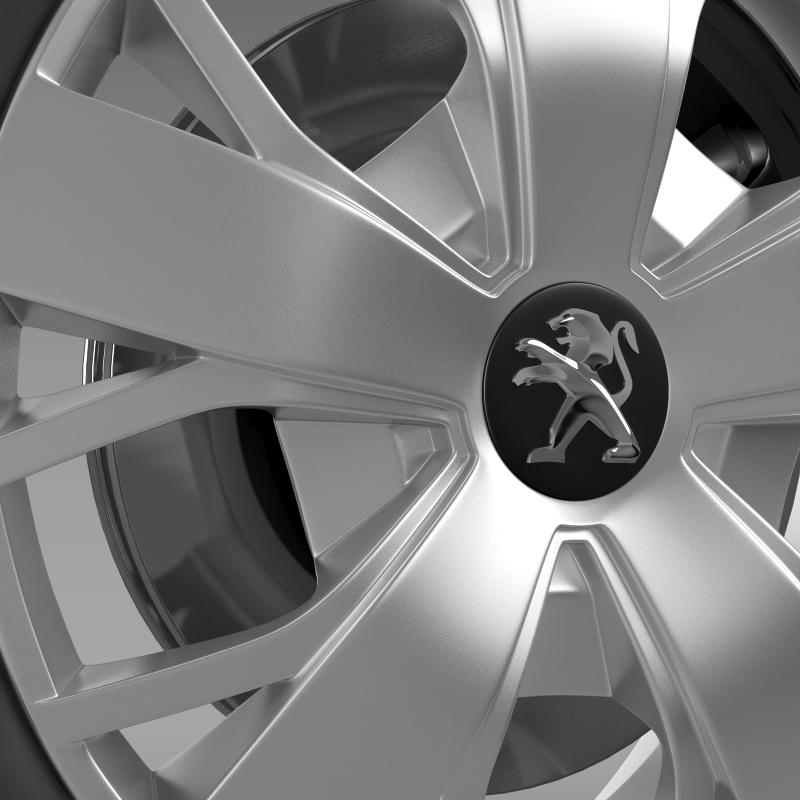 peugeot boxer wheel 3d model 3ds max fbx c4d lwo ma mb hrc xsi obj 211373