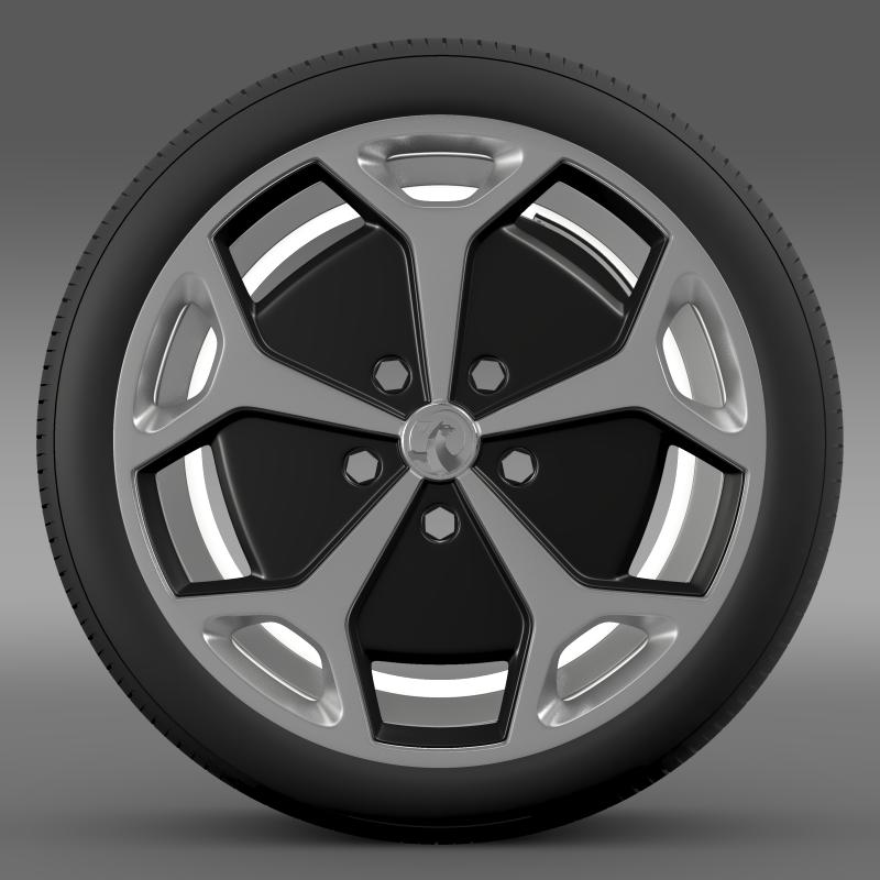 vauxhall ampera wheel 3d model 3ds max fbx c4d lwo ma mb hrc xsi obj 211384