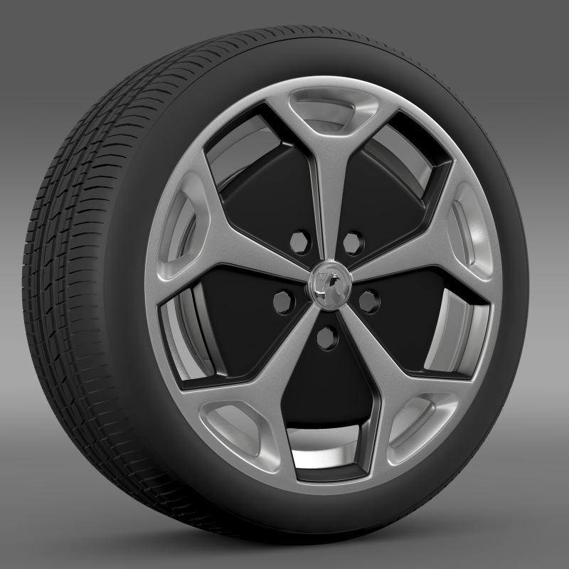 vauxhall ampera wheel 3d model 3ds max fbx c4d lwo ma mb hrc xsi obj 211385
