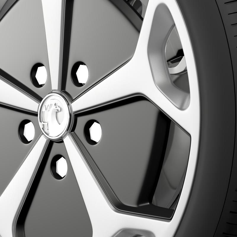 vauxhall ampera wheel 3d model 3ds max fbx c4d lwo ma mb hrc xsi obj 211386