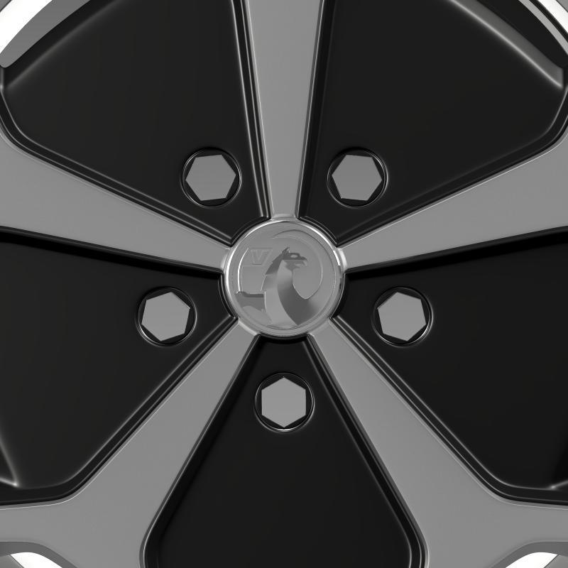 vauxhall ampera wheel 3d model 3ds max fbx c4d lwo ma mb hrc xsi obj 211387