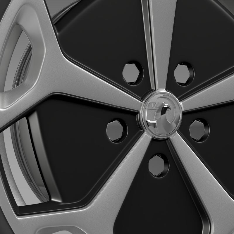 vauxhall ampera wheel 3d model 3ds max fbx c4d lwo ma mb hrc xsi obj 211388