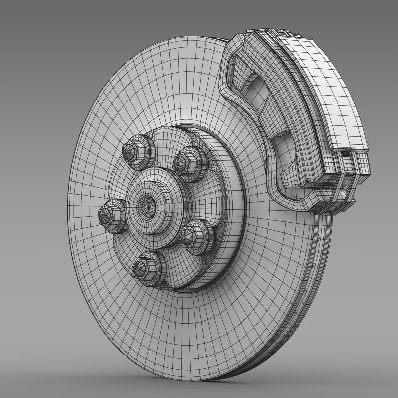 vauxhall ampera wheel 3d model 3ds max fbx c4d lwo ma mb hrc xsi obj 211394