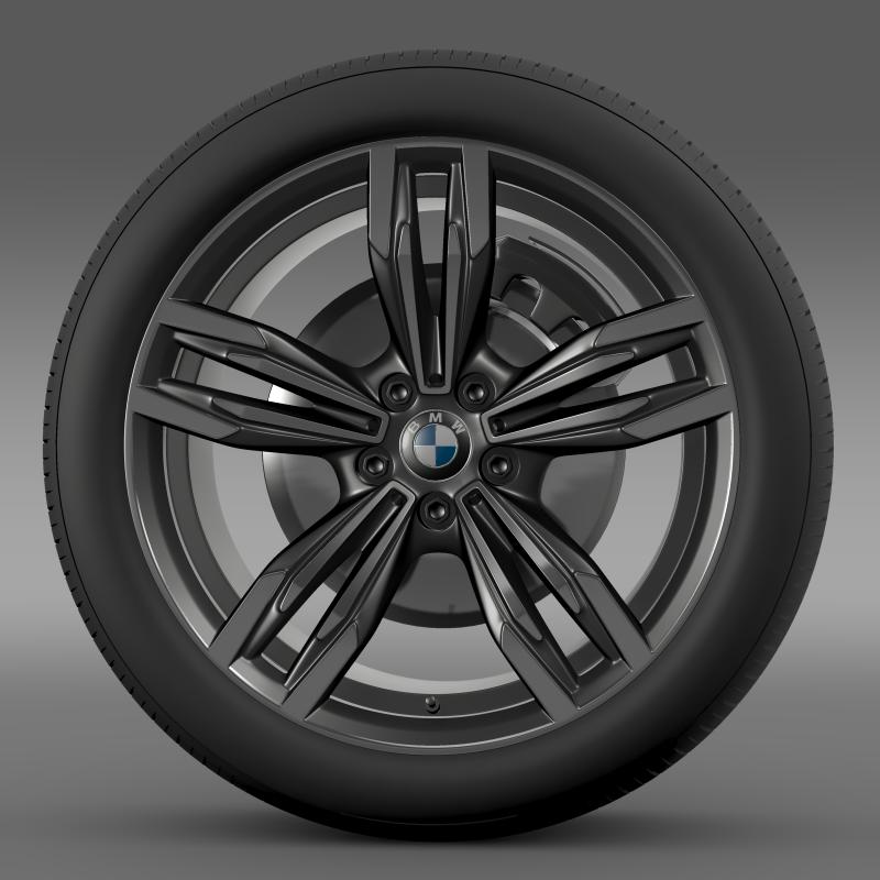 bmw m6 gran coupe wheel 3d model 3ds max fbx c4d lwo ma mb hrc xsi obj 211399