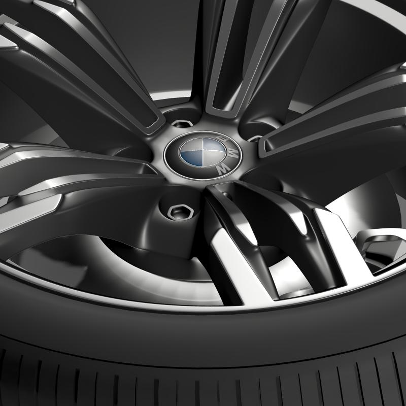bmw m6 gran coupe wheel 3d model 3ds max fbx c4d lwo ma mb hrc xsi obj 211401