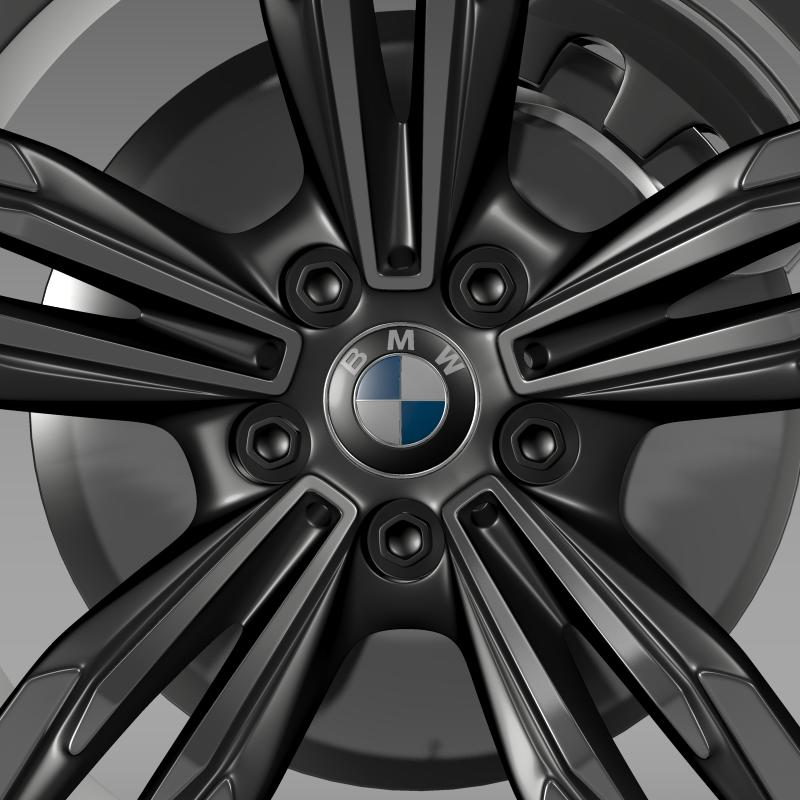 bmw m6 gran coupe wheel 3d model 3ds max fbx c4d lwo ma mb hrc xsi obj 211402