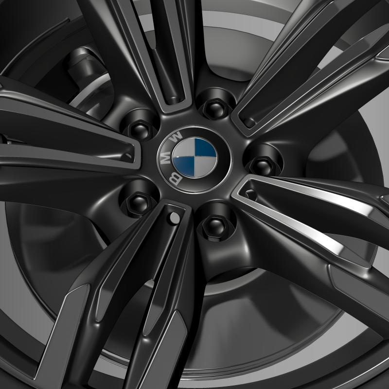 bmw m6 gran coupe wheel 3d model 3ds max fbx c4d lwo ma mb hrc xsi obj 211403