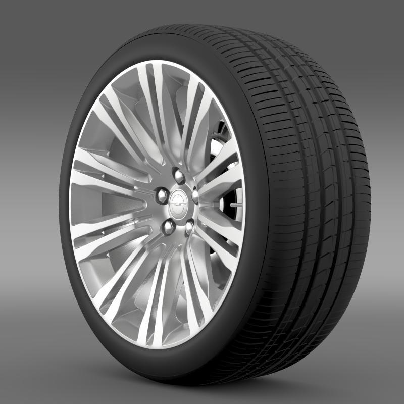 Chrysler 300C 2012 wheel 3d model 3ds max fbx c4d lwo lws lw ma mb  obj 211413