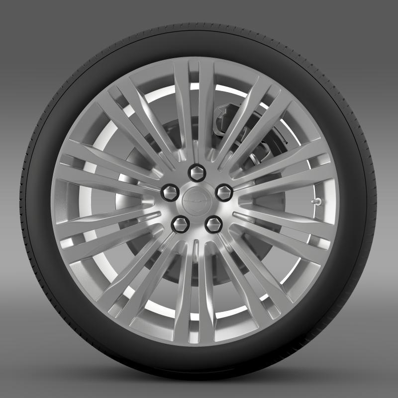 chrysler 300c 2012 wheel 3d model 3ds max fbx c4d lwo ma mb hrc xsi obj 211414