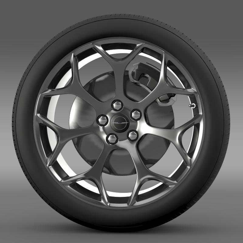 chrysler 300s 2015 wheel 3d model 3ds max fbx c4d lwo ma mb hrc xsi obj 211429