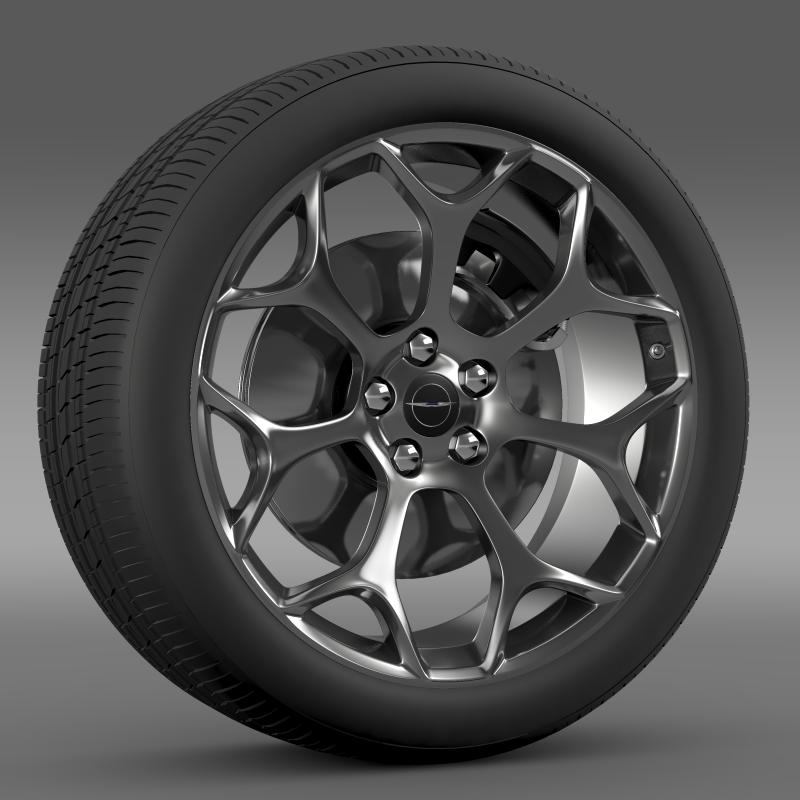 chrysler 300s 2015 wheel 3d model 3ds max fbx c4d lwo ma mb hrc xsi obj 211430