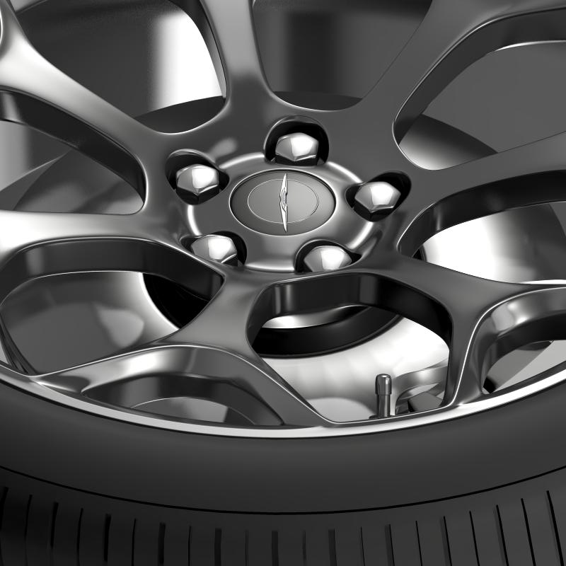 chrysler 300s 2015 wheel 3d model 3ds max fbx c4d lwo ma mb hrc xsi obj 211431