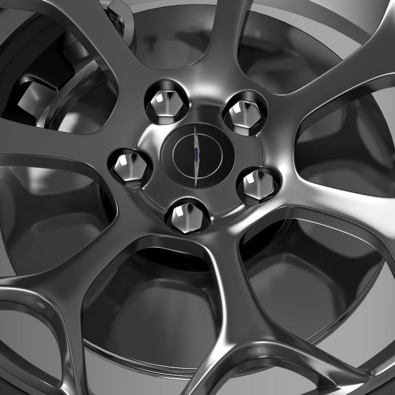 chrysler 300s 2015 wheel 3d model 3ds max fbx c4d lwo ma mb hrc xsi obj 211433