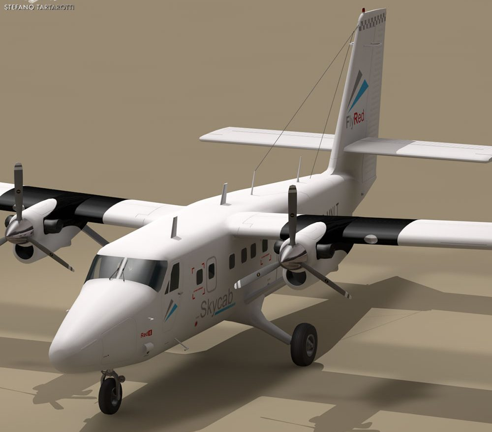 DHC6 Twin Otter ( 97.56KB jpg by tartino )