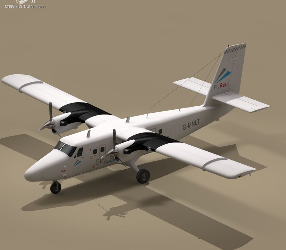 DHC6 Twin Otter ( 88.5KB jpg by tartino )