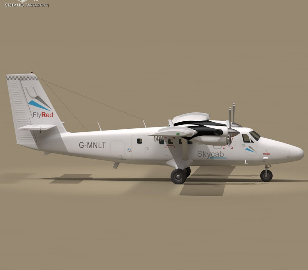 DHC6 Twin Otter ( 75.59KB jpg by tartino )