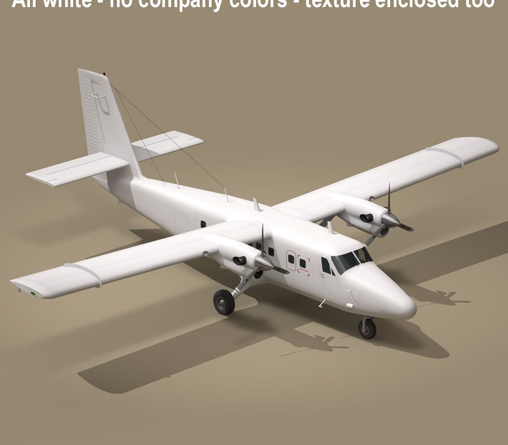 DHC6 Twin Otter ( 91.82KB jpg by tartino )