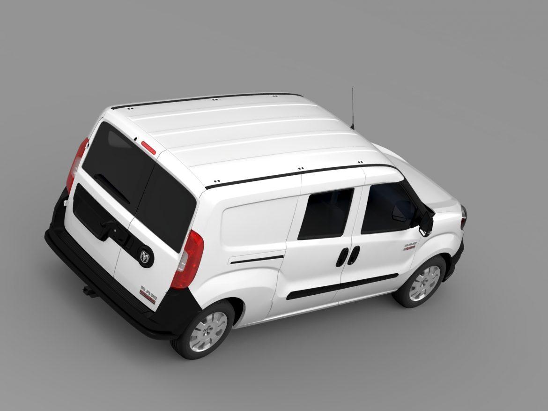 ram promaster city wagon 2015 3d model 3ds max fbx c4d lwo ma mb hrc xsi obj 211524