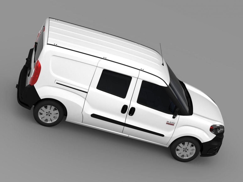 ram promaster city wagon 2015 3d model 3ds max fbx c4d lwo ma mb hrc xsi obj 211525