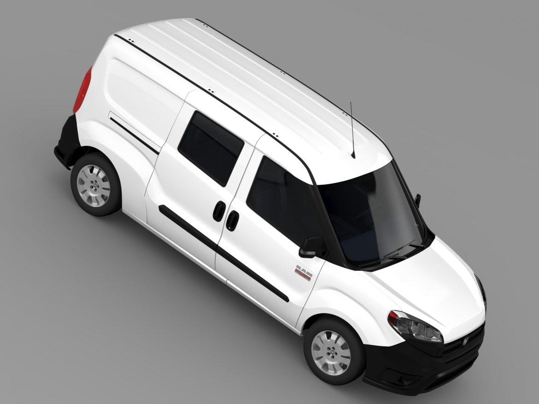 ram promaster city wagon 2015 3d model 3ds max fbx c4d lwo ma mb hrc xsi obj 211526