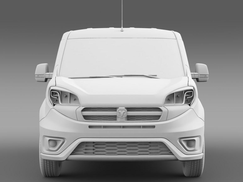 ram promaster city wagon 2015 3d model 3ds max fbx c4d lwo ma mb hrc xsi obj 211527