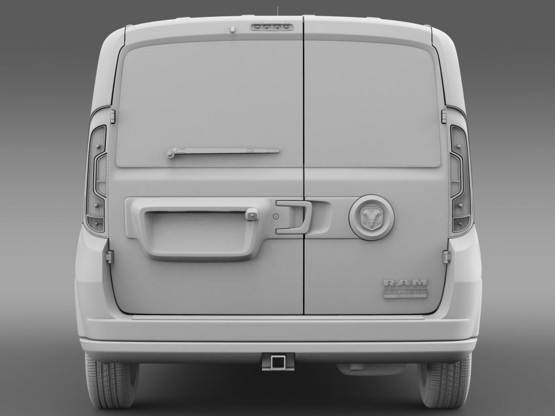 ram promaster city wagon 2015 3d model 3ds max fbx c4d lwo ma mb hrc xsi obj 211528