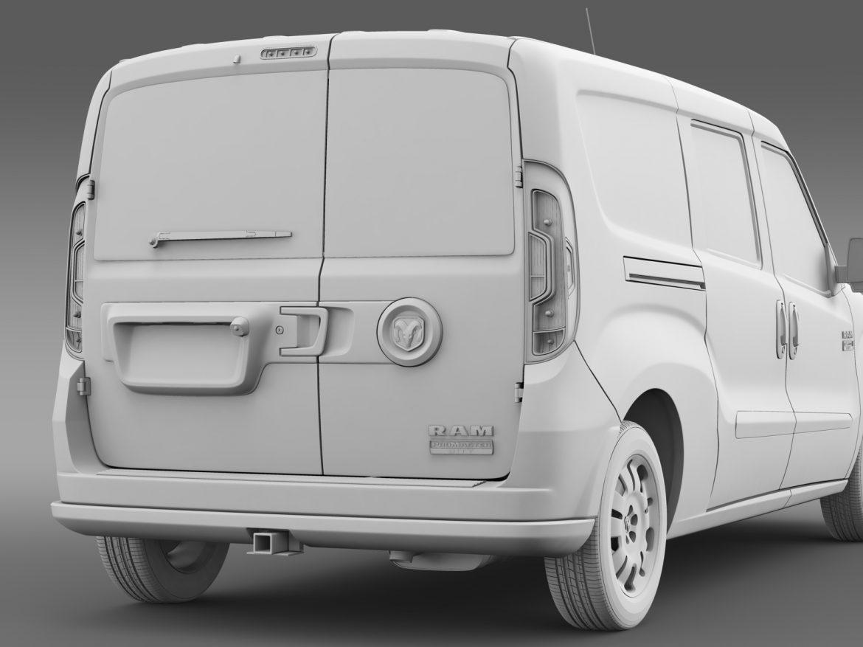 ram promaster city wagon 2015 3d model 3ds max fbx c4d lwo ma mb hrc xsi obj 211530
