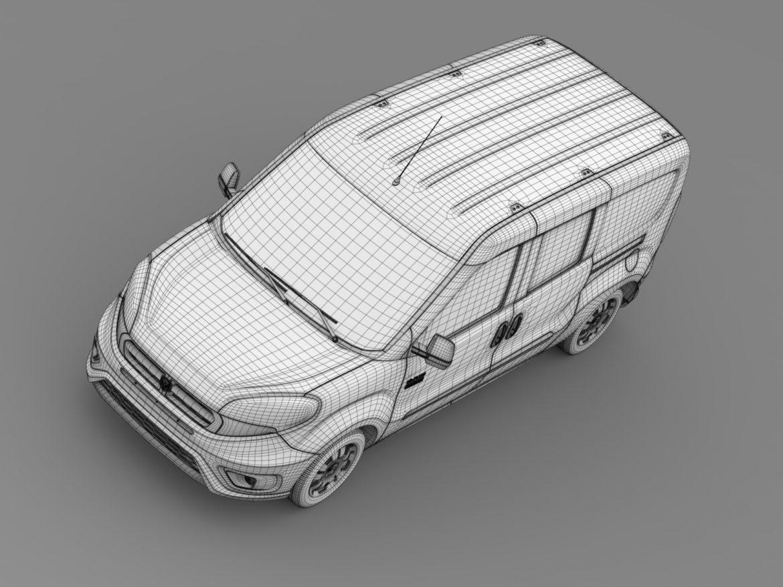 ram promaster city wagon 2015 3d model 3ds max fbx c4d lwo ma mb hrc xsi obj 211531