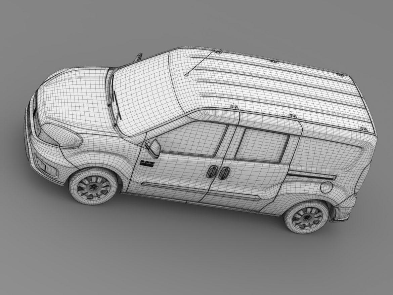 ram promaster city wagon 2015 3d model 3ds max fbx c4d lwo ma mb hrc xsi obj 211532