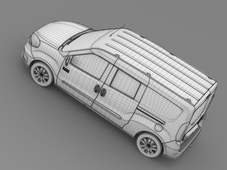 ram promaster city wagon 2015 3d model 3ds max fbx c4d lwo ma mb hrc xsi obj 211533