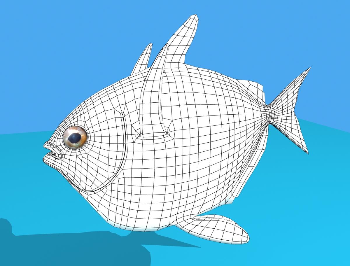 opah fish 3d model max fbx obj 211558