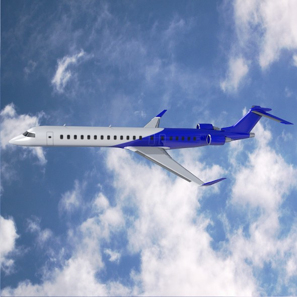 Bombardier crj900 commercial aircraft ( 60.48KB jpg by futurex3d )