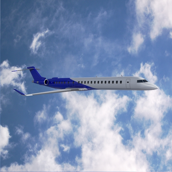 Bombardier crj900 commercial aircraft ( 227.31KB jpg by futurex3d )