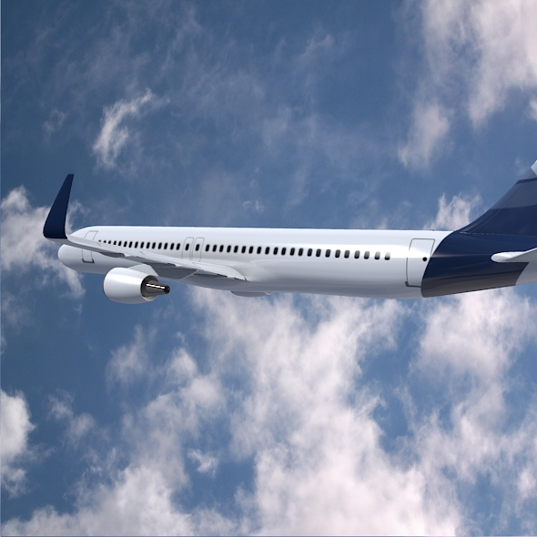 Airbus A320-100 commercial jetliner ( 219.99KB jpg by futurex3d )