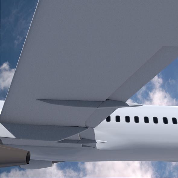 airbus a320-100 kommersiya jetliner 3d modeli 3ds fbx qarışığı 211625