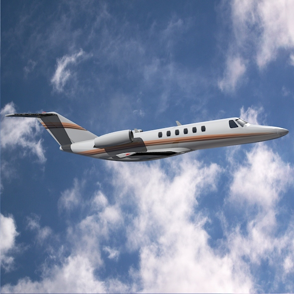 Cessna Citation cj3 private jet ( 151.33KB jpg by futurex3d )