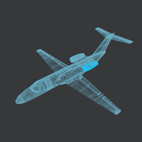 citation cj3 private jet cessna 3d model 3ds fbx blend dae lwo obj 211650