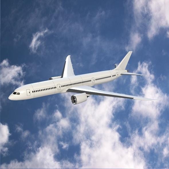 Boeing 787-9 dreamliner ( 229.29KB jpg by futurex3d )