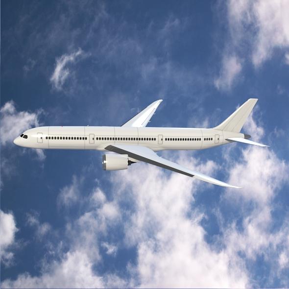Boeing 787-9 dreamliner ( 225.65KB jpg by futurex3d )