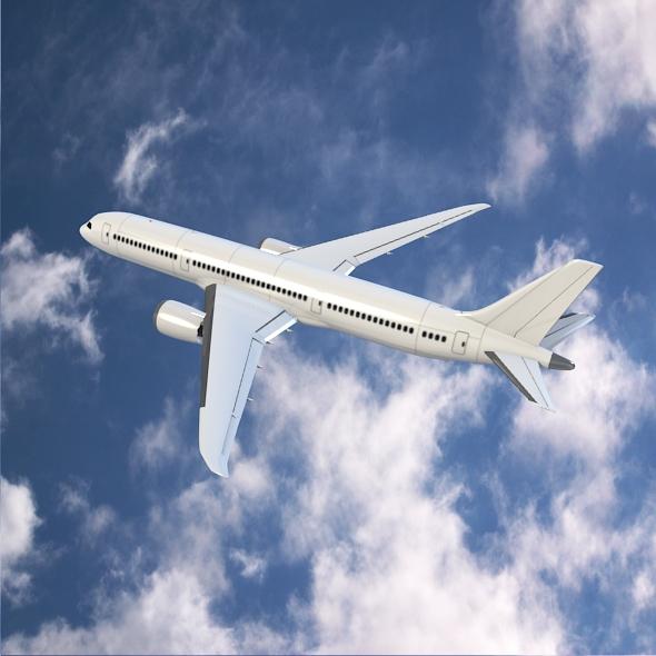 Boeing 787-9 dreamliner ( 230.09KB jpg by futurex3d )