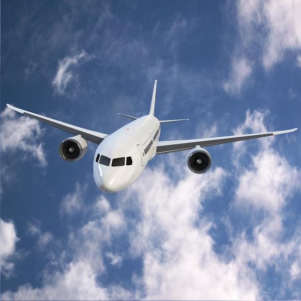 Boeing 787-9 dreamliner ( 228.92KB jpg by futurex3d )