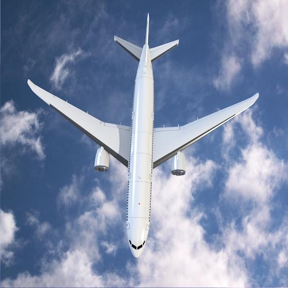 Boeing 787-9 dreamliner ( 229.57KB jpg by futurex3d )